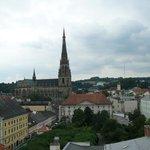 Linz von oben gesehen