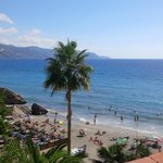 Lovely beach to left of the Balcon de Europe - very quiet in the mornings