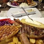 kebab & mix grill enormous
