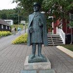Statue of Jon Sveinsson