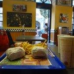 Double Cheeseburger & Rodeo Burger