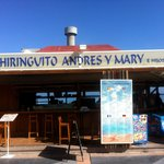 "Andres y Mary ""Chiringuito"" - entrance"