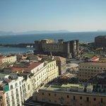 ホテルからの眺望 港