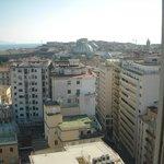 ホテルからの眺望 ガリレアの屋根