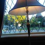 windows at breackfast