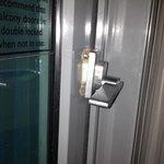broken door latch; so unsafe