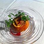 Mini cuchaule au foie gras