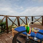 Enjoy your drink with breath taking views of Indian Ocean