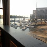 View from our table