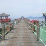 Main pier