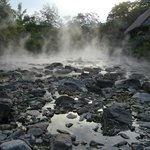 steamy rocks outside Santuario