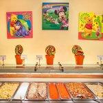 Childrens buffet (high season summer)