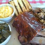 Big Smokey... 3 meats, two sides, one delicious meal!