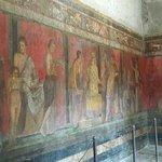 pintura em pompeia