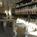 cerâmica conservada em pompeia
