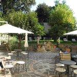 Blick in den Garten, Hof der Nymphe Cloris
