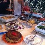 9euro(?) dinner buffet