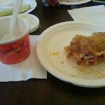 Tyringham gobble with a cup of chowder