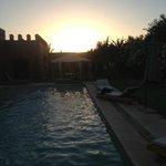 Le beau coucher du soleil