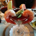 Ginormous Shrimp Cocktail