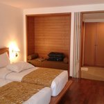 newly renovated, wood accented executive room