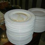 Clean plates? Hmm
