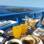 colazione sul terrazzino