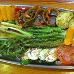 Parrilla de verduras