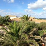 Panorama-Blick zum Meer