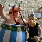 Asterix and Obelix come every morning
