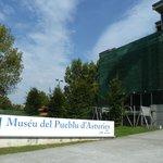 Entrada al edificio principal del Museo. Arquitectura modernista maravillosa.