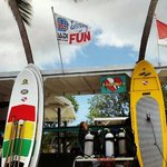 Coki Beach best place to paddle Board!