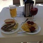 anchovies and chorizo tapas
