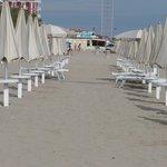 Strandabschnitt Hotel Abarth