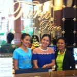 Lovely Cheerful Staff at front desk.
