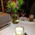 Beautiful flowers, delicious chai tea & hot chocolate