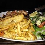 Steak + shrimps
