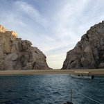 Lovers Beach from the Sea of Cortez