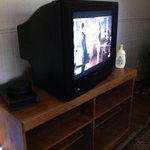 Old Model TV at Resort