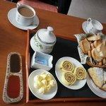 Desayuno riquísimo