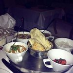 delicious indian at the excellence