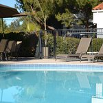 Come relax by our heated pool.