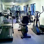 Fitness Room located by the front office of our resort.