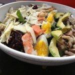 Seafood Cobb Salad