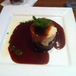 Haggis & black pudding tower - OMG!