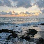 Caspersen Beach At Sunset