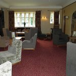 One of the lounge area's