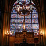 Catedral de Notre-Dame - vitral