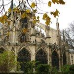 Catedral de Notre-Dame - contrafortes