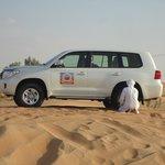 about to start dune bashing